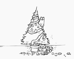 Simon's Cat - Santa Claws, fig. 2.