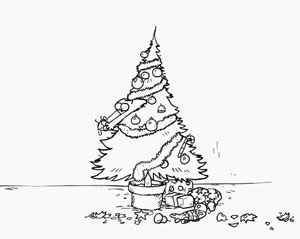 Simon's Cat - Santa Claws, fig. 3.