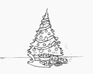 Simon's Cat - Santa Claws, fig. 6.